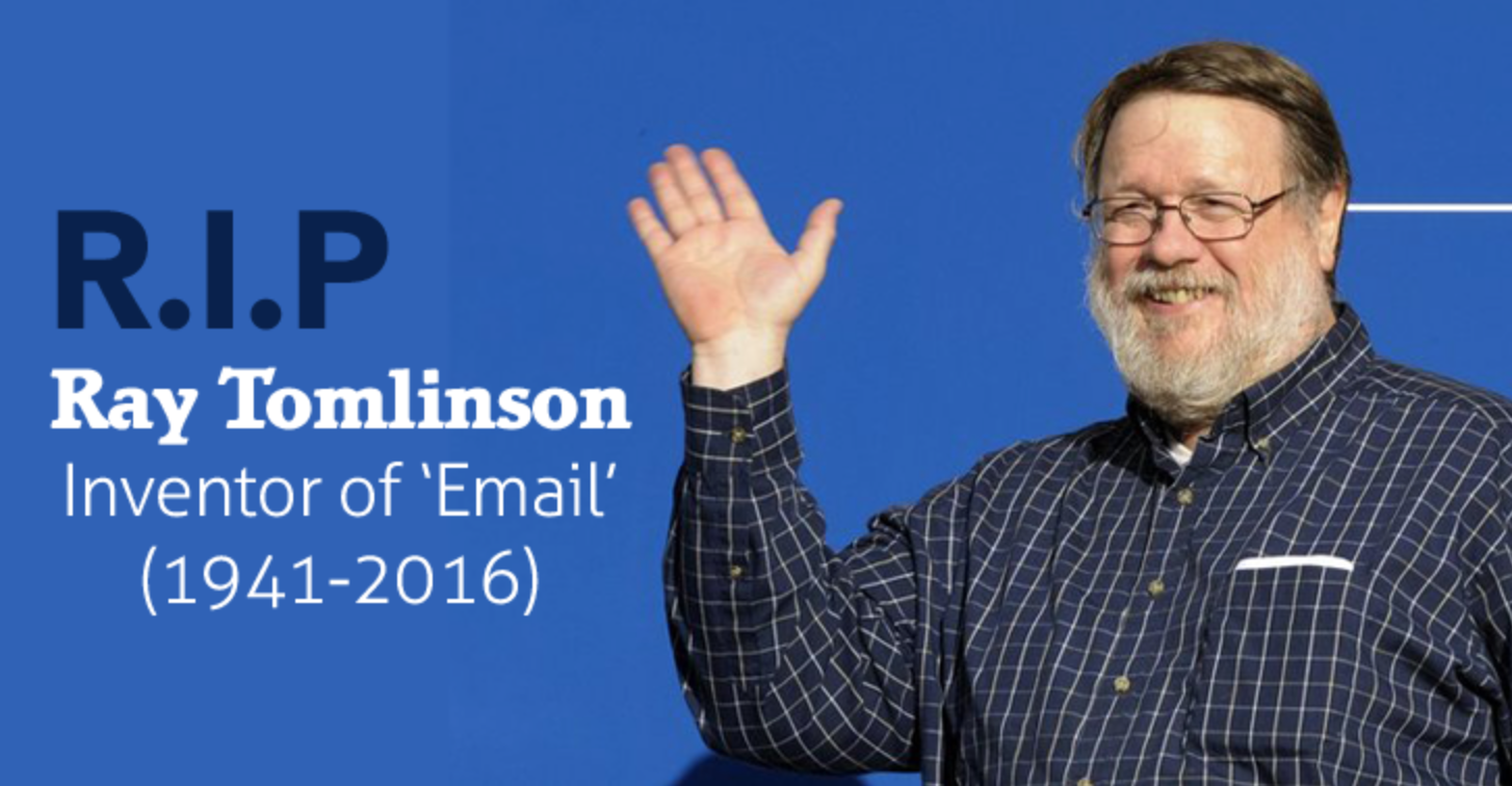 picture of Ray Tomlinson Inventor of Email